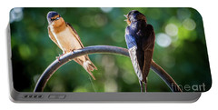 Chirping Portable Battery Charger