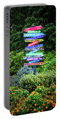 Portable Battery Charger featuring the photograph Choices - Finger Lakes, New York by Lynn Bauer