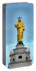 Portable Battery Charger featuring the photograph Christ The Redeemer by Fabrizio Troiani