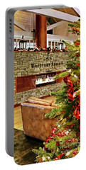 Christmas At Woodford Reserve Portable Battery Charger