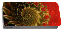 Christmas Card Design Portable Battery Charger