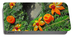 Christmas Citrus Portable Battery Charger
