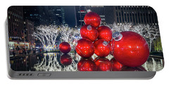 Christmas Comes To Town Portable Battery Charger