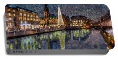 Christmas Hamburg Portable Battery Charger