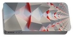 Chromoplastic Mural Portable Battery Charger