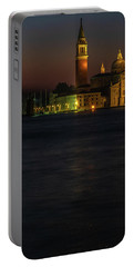 Portable Battery Charger featuring the photograph Church Of San Giorgio Maggiore Before Sunrise by Tim Bryan