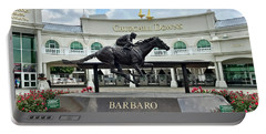 Churchill Downs Barbaro Portable Battery Charger