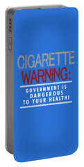 Cigarette Warning Portable Battery Charger
