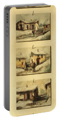 Cinque Gocce Di Neve Portable Battery Charger