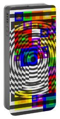 Circular Colour Fusion  Portable Battery Charger