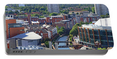 Portable Battery Charger featuring the photograph City View by Tony Murtagh