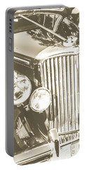 Classic Car Chrome Portable Battery Charger