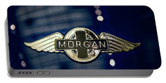 Classic Morgan Name Plate Portable Battery Charger