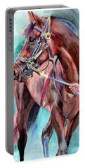 Classical Horse Portrait Portable Battery Charger