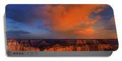 Clearing Storm Cape Royal North Rim Grand Canyon Np Arizona Portable Battery Charger
