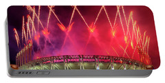 Cleveland Indians Fireworks Portable Battery Charger