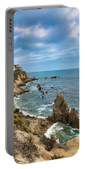 Cliffs Of Corona Del  Mar Portable Battery Charger