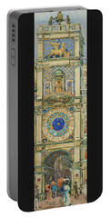 Clock Tower, Saint Marks Square, Venice - Digital Remastered Edition Portable Battery Charger