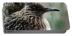 Closeup Of Road Runner By Dragon In Palm Desert Portable Battery Charger