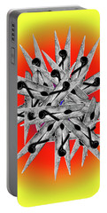 Clothespin Pop Art Warhol Style Print - #1 Portable Battery Charger