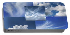 Cloud Collage Two Portable Battery Charger
