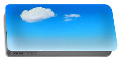 Cloud In Blue Portable Battery Charger