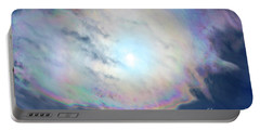 Cloud Iridescence Portable Battery Charger
