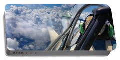 Portable Battery Charger featuring the photograph Cloud Surfing by Tom Gresham