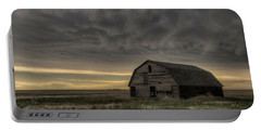 Clouds And Barn Portable Battery Charger