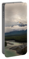 Portable Battery Charger featuring the photograph Clouds In The Valley by Alex Lapidus