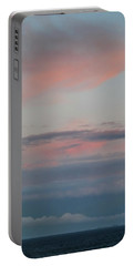Clouds Over The Ocean Portable Battery Charger