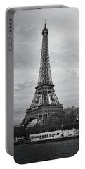 Cloudy In Paris Portable Battery Charger