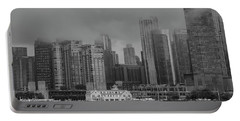 Cloudy Skyline Portable Battery Charger
