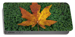 Clover Leaf Autumn Portable Battery Charger