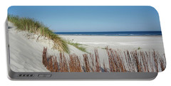 Portable Battery Charger featuring the photograph Coast Ameland by Anjo Ten Kate