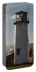 Coast Guard Lighthouse Along The Cape Portable Battery Charger