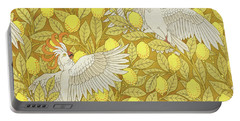 Tropical Plants Drawings Portable Battery Chargers