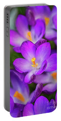 Crocuses Portable Battery Charger