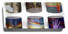Coffee Mugs Samples Portable Battery Charger