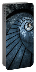 Cold Blue Staircase Portable Battery Charger