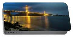 Portable Battery Charger featuring the photograph Cold Night- by JD Mims