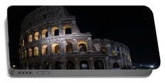 Coliseum At Night Portable Battery Charger