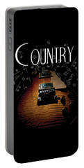 Color Country Music Guitar Notes Portable Battery Charger