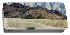 Portable Battery Charger featuring the photograph Color Layers In The Desert by Arik Baltinester