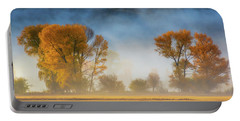 Colorado Autumn Fog Portable Battery Charger