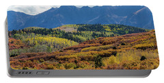 Portable Battery Charger featuring the photograph Colorado Color Bonanza by James BO Insogna