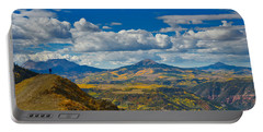 Portable Battery Charger featuring the photograph Colorado Fall by Tom Gresham