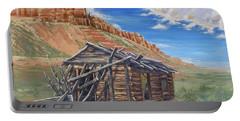 Colorado Prarie Cabin Portable Battery Charger
