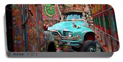 Truck Art Portable Battery Charger