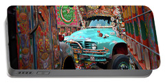 Truck Art Portable Battery Charger